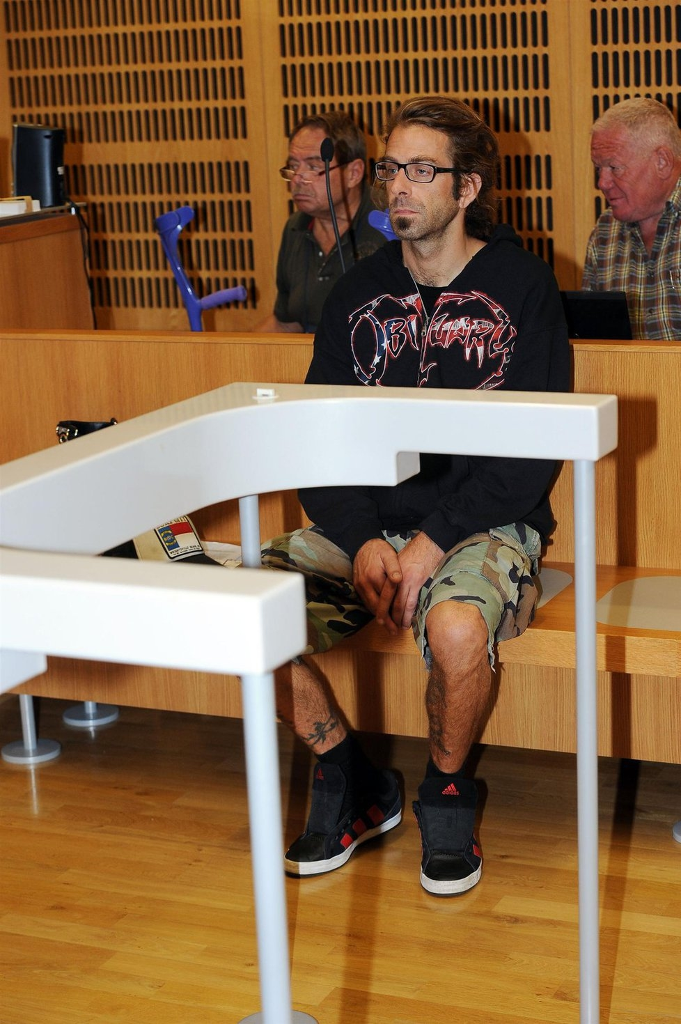 Randy Blythe in a Prague Court