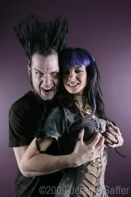 Wayne Static and Tera Wray Static-X has just posted the first single off